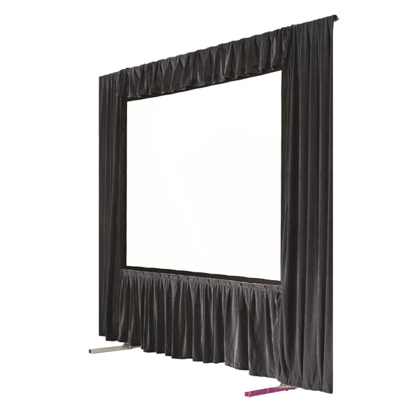 Fastfold screen and drape kit hire