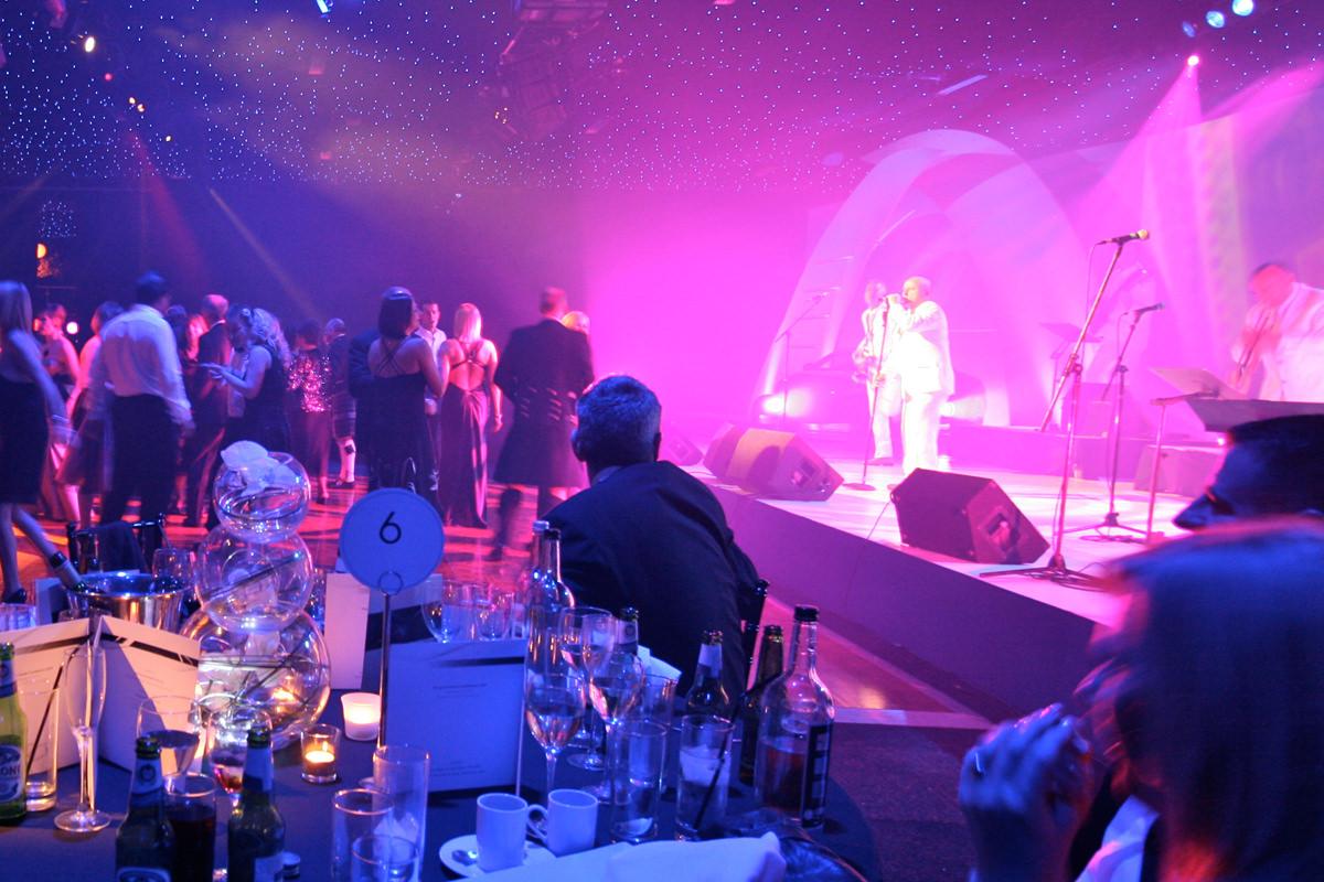 Awards night entertainment set
