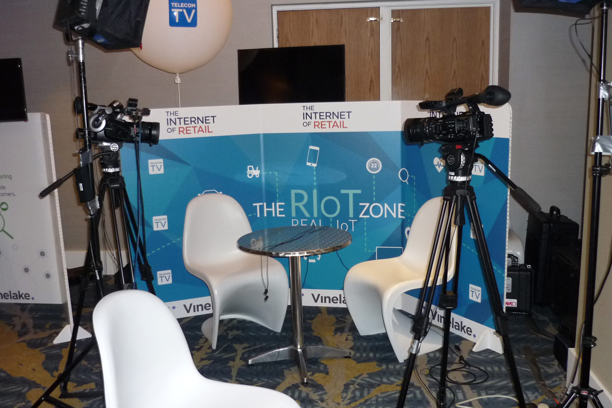 IOT discussion pod video shoot